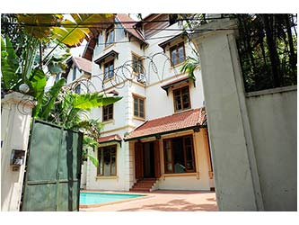 Beautiful 05BR unfurnished Villa for rent at To Ngoc Van, with swimming pool