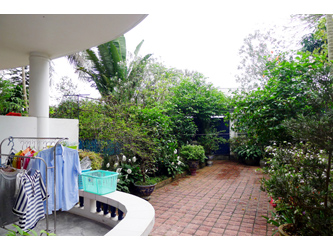 Charming furnished house beside West Lake with large Yard in Tay Ho