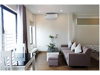 Charming studio apartment for rent at To Ngoc Van Street, brand-new