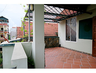 House for rent in Nghi Tam, Tay Ho, Hanoi, 3 BR, nice Terrace