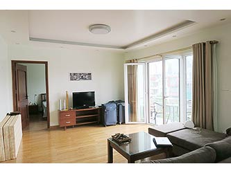 Lake view 01 BR apartment for lease in Tay Ho, Nice balcony & nearby Hanoi Club
