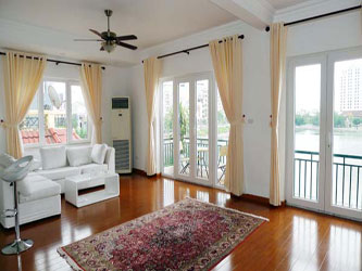 Lake view apartment in Quang An, Brand new, modern furnished, 3 bedrooms