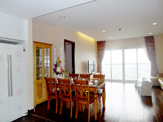 Lancaster Hanoi, 3 bedroom apartment great located on high floor, 142 m2