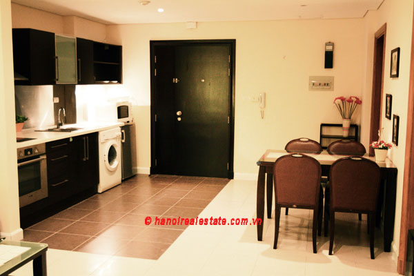 Pacific Place Hanoi Modern One Bedroom Apartment For Rental Bright F