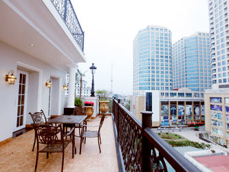 Penthouse Apartment with large terrace in central Hai Ba Trung Dist Hanoi