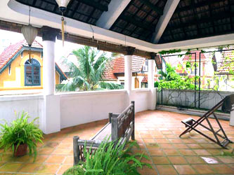 Quiet house with Yard and big terrace on Dang Thai Mai, Tay Ho Hanoi