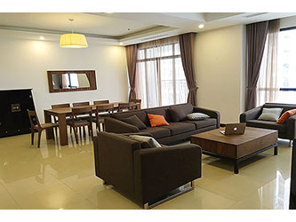 Rental Furnished 3 bedroom Exclusive Apartment in Royal city Hanoi