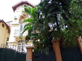 Rental Nice free standing house in To Ngoc Van with private Yard