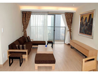 Skycity Hanoi Furnished 2 bedroom apartment for rent on high floor