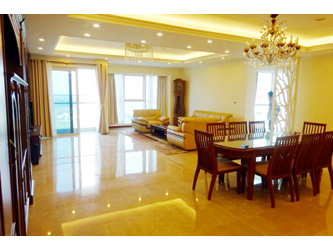 Spacious luxury 4 BR Apartment for rent at tower Ciputra Hanoi