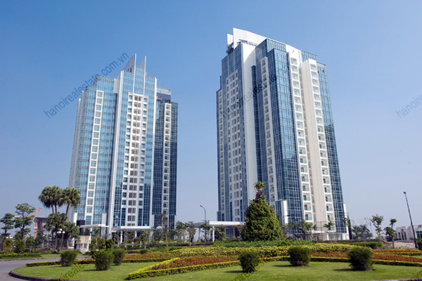 Ciputra L1 L2 tower  Link Tower. Golden West Lake Hanoi Apartment for Rent  Golden West Lake