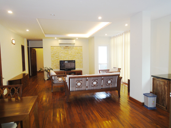 Bright and Airy 2 bedroom Apartment for rent in Truc Bach, Ba Dinh, Hanoi