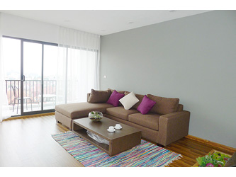 Two bedroom luxury apartment for rent in Tay ho, lake view and airy