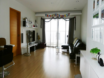 Two bedroom modern style apartment in Skycity Tower 88 Lang Ha Hanoi
