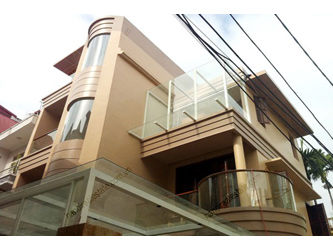 4 bedrooms,  well designed, luxury house for rent in Cau Giay dist, Ha Noi