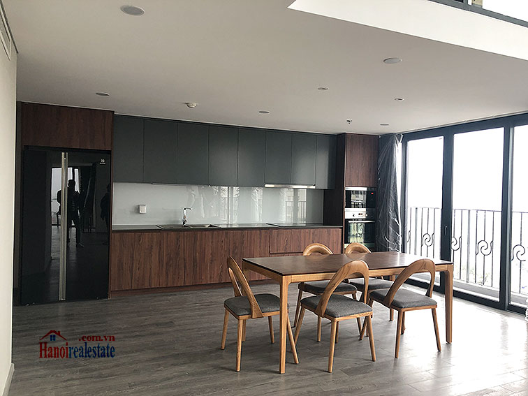 Awesome brand new 02BRs duplex apartment at PentStudio, great view 5