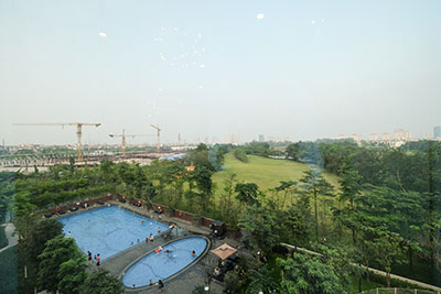 Bandnew and spacious apartment with 03 bedrooms in L block Ciputra, golf course view