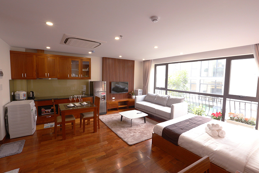 Brand new, lovely studio apartment in Ba Dinh