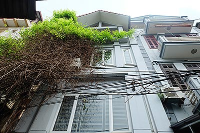 Bright 03BR house for rent in Au Co, Tay Ho Dist