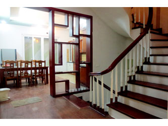 Bright 5 bedroom house for rent in Dao Tan Str,  Ba Dinh district, Hanoi