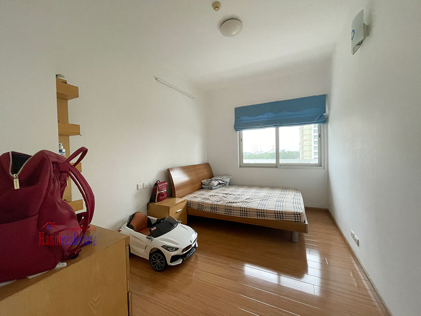 Bright and cozy, wooden floor 04BRs apartment with open view at E1 Ciputra 10