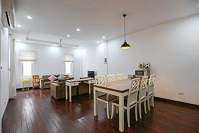 Charming 02 bedroom apartment on Quang An street with car access