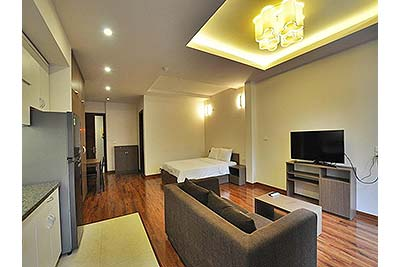 450 $ Studio apartment for rent in To Ngoc Van, Hanoi