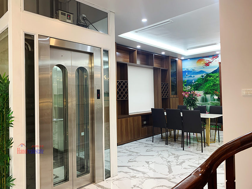 Ciputra: Brand new 04BRs house in K block Ciputra with elevator 6