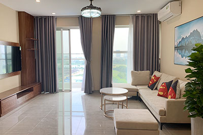 Ciputra: Golf course view 03BRs apartment in the brand new L4