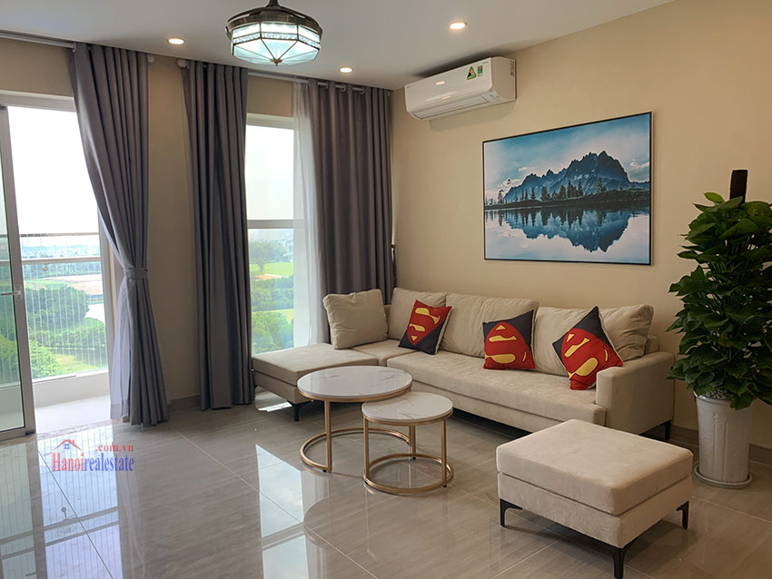 Ciputra: Golf course view 03BRs apartment in the brand new L4 5