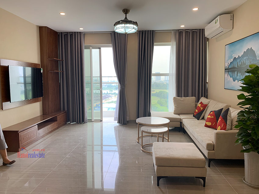 Ciputra: Golf course view 03BRs apartment in the brand new L4 6