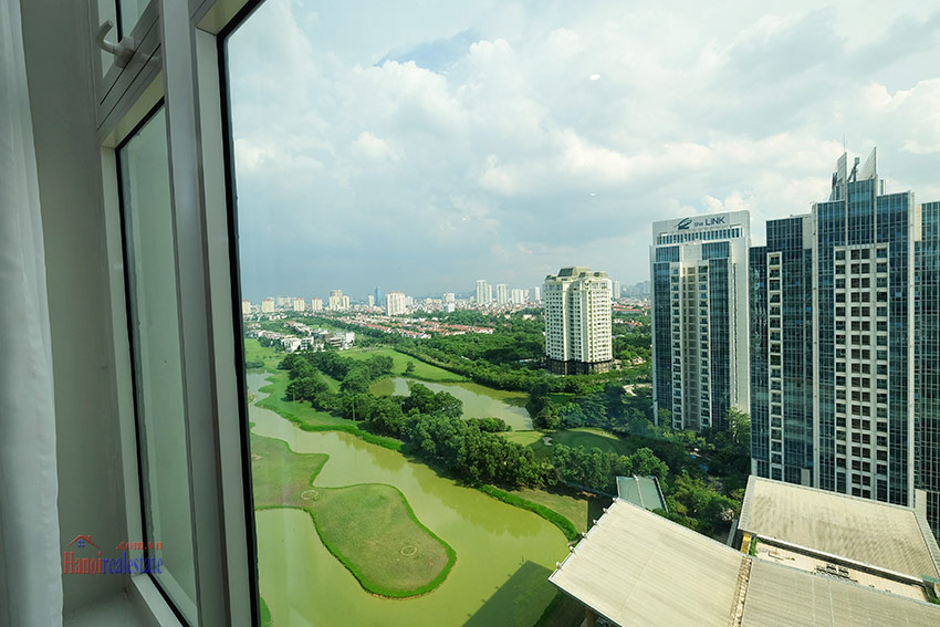 Ciputra: Stunning Golf course view 03BRs apartment on high floor of L3 Tower 25