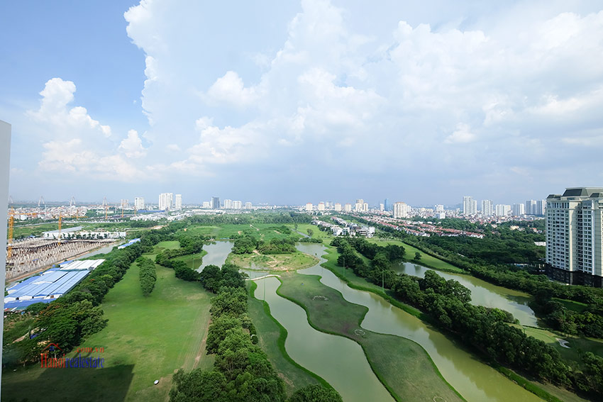 Ciputra: Stunning Golf course view 03BRs apartment on high floor of L3 Tower 26
