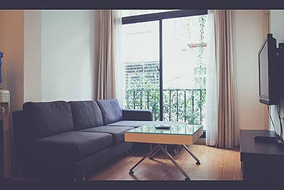 Cozy 02 Bed Furnished apartment for rent at Kim Ma Rd, Ba Dinh, Hanoi
