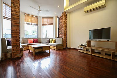 Duplex 02 bedroom serviced apartment on Dang Thai Mai in quiet residence
