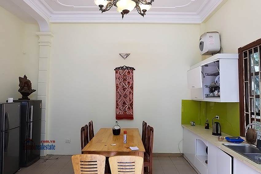 Four bedroom house with garden and cout yard in Ba Dinh 3