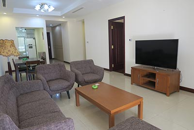 Fully furnished 02BRs apartment to lease at Royal City Hanoi