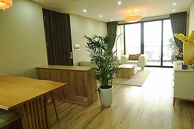 Gorgeous 02BRs apartment at Vong Thi, balcony looking to Westlake