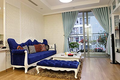 High-end apartment in Times City Park Hill Premium, royal furniture