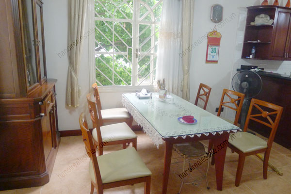 Large  garage, beautiful house for rent in Ba Dinh, Hanoi 12