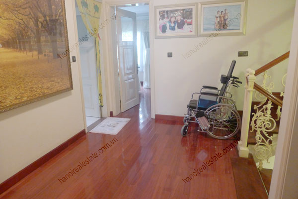 Large  garage, beautiful house for rent in Ba Dinh, Hanoi 19