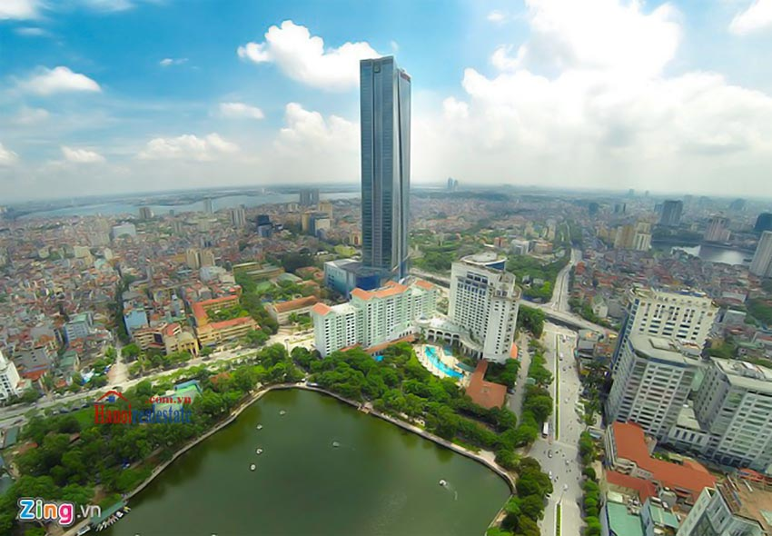 Lotte Hanoi - Serviced Apartment for rent - Building