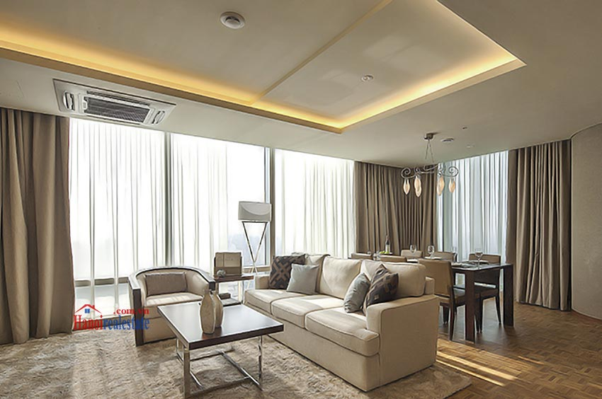 Lotte Hanoi - Serviced Apartments for rent: luxury living room