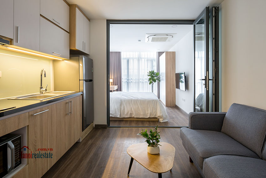 Lovely brand new studio apartment on Xuan Dieu Rd 2