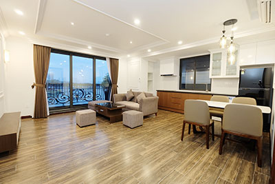 Modern 2-bedroom Apartment with lake view on Tran Vu Street
