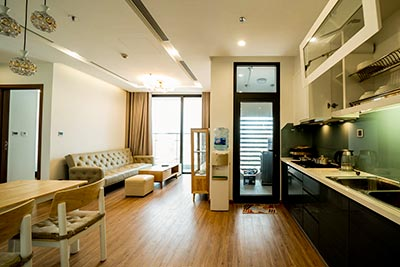 Modern and brand new 2 bedroom apartment in Metropolis with city view