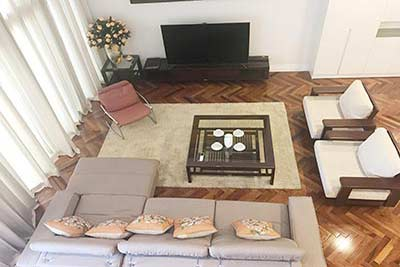 Hoang Thanh Tower 3-bedroom duplex apartment to rent