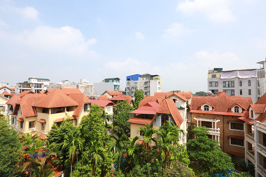 Old but Gold 01 bedroom apartment on To Ngoc Van Road, brick wall and garden terrace 7