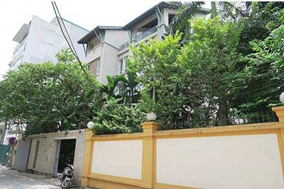 Bright Modern Villa with Swimming Pool for rent in Tay Ho Dist Hanoi