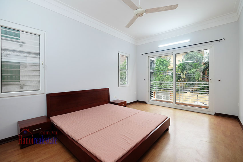 Partly furnished 4-bedroom house on Dang Thai Mai to rent 12
